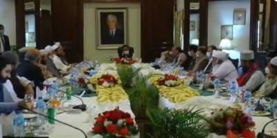 وزیراعلیٰ پنجاب سے علماء کرام و مشائخ عظام کی ملاقات
