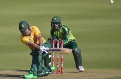 دوسرا ٹی ٹونٹی: جنوبی افریقا نے پاکستان کو با آسانی ہرا دیا