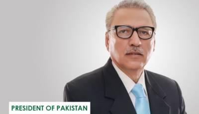 صدر مملکت ڈاکٹر عارف علوی کا خبریں گروپ کے چیف ایڈیٹر ضیاء شاہد کی وفات پر اظہار ِافسوس