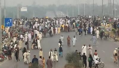 اسلام آباد، فیض آباد انٹرچینج پر رینجرز، ایف سی اور پولیس تعینات