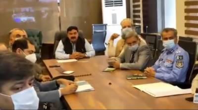 ریاست کی رٹ کو ہر صورت یقینی بنایا جائے: شیخ رشید کی شرکاء کو ہدایت