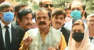 لاہور: آج نواز شریف، شہباز شریف کا بیانیہ سرخرو ہوا، رانا ثنااللہ