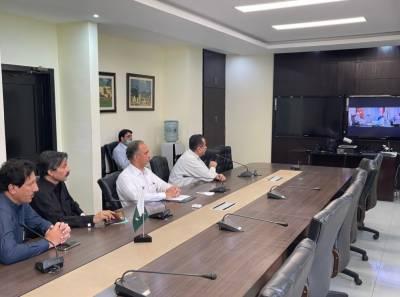 کراچی سے ممبران قومی اسمبلی شکور شاد، سیف الرحمان اور عطااللہ کی وفاقی وزیر پاور و پٹرولیم جناب عمر ایوب خان سے اہم ملاقات