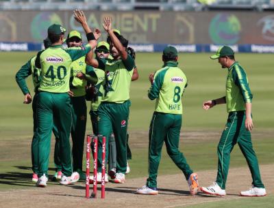 تیسرا ٹی 20: جنوبی افریقہ کا پاکستان کو 204 رنز کا ہدف