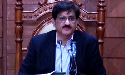 وزیراعلیٰ سندھ مراد علی شاہ نے صوبے میں مزید پابندیوں کا عندیہ دے دیا