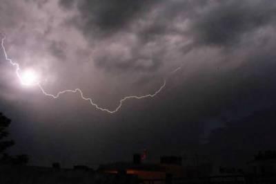 ملک کے بالائی اور وسطی علاقوں میں طوفان اور شدید بارش کی پیشگوئی