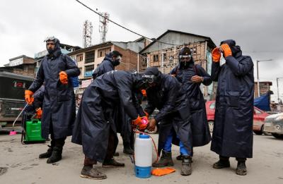 مقبوضہ کشمیر میں کرونا وائرس متاثرین کی مجموعی تعداد 1لاکھ 48ہزار208ہوگئی
