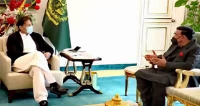 وزیراعظم سے وزیرداخلہ شیخ رشید کی ملاقات