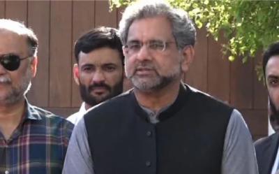 مذاکرات ہی کرنے تھے تو کالعدم کیوں قرار دیا: شاہد خاقان عباسی