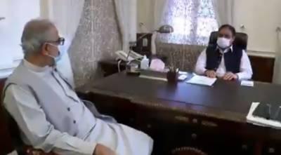 وزیراعلیٰ پنجاب سردار عثمان بزدارسے اراکین قومی و صوبائی اسمبلی کی ملاقاتیں