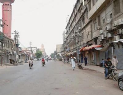 کراچی کے مزید علاقوں میں مائیکرو اسمارٹ لاک ڈاؤن نافذ