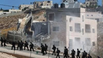 اسرائیلی دہشتگردی: 13فلسطینی گھروں کو مسمار کر نے کا حکم