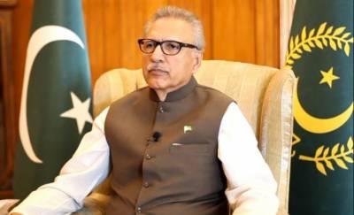 صدر مملکت ڈاکٹر عارف علوی کی کوئٹہ دھماکے کی شدید مذمت