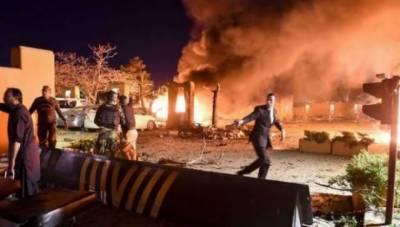 کوئٹہ دھماکے کی ویڈیو سامنے آ گئی