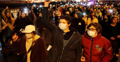 روس میں قائد حزب اختلاف ناولنی کی رہائی کیلئےاحتجاج کرنیوالے1400 سےزائدمظاہرین گرفتار