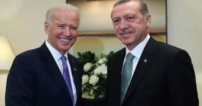 ترک صدرکی امریکی صدرجوبائیڈن سے ٹیلی فون پربات چیت