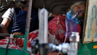 بھارت: مسلسل پانچویں روز کورونا کے ریکارڈ ساڑھے تین لاکھ سے زائد کیسز