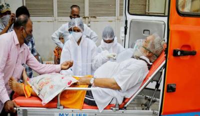 بھارت، نئے کورونا مریضوں کی تعداد مسلسل چھٹے روز بھی3 لاکھ سے زائد