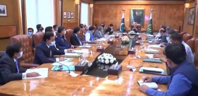 صدر مملکت ڈاکٹر عارف علوی کی زیرِ صدارت انٹرنیٹ ووٹنگ پر ذیلی کمیٹی کا اجلاس