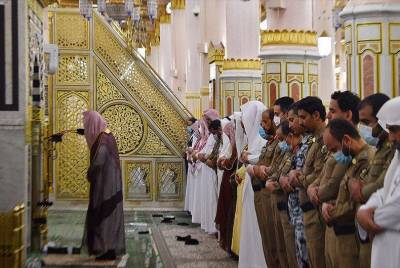 مسجد نبوی میں رمضان کے آخری عشرہ کے لیے تمام تیاریاں مکمل