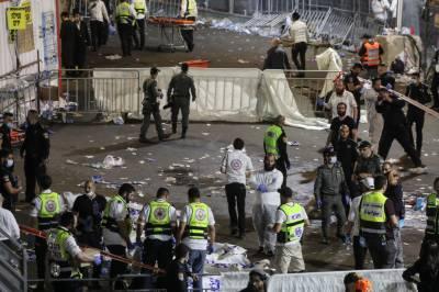 اسرائیل میں مذہبی میلے میں بھگڈر مچنے سے 44 افراد ہلاک، متعدد زخمی