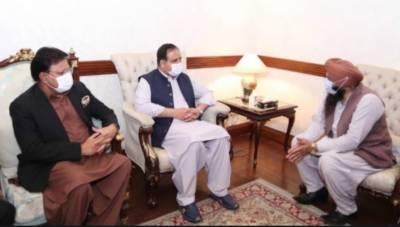 وزیراعلیٰ پنجاب سردار عثمان بزدار سے صوبائی وزرا ء اور اراکین قومی وصوبائی اسمبلی کی ملاقاتیں