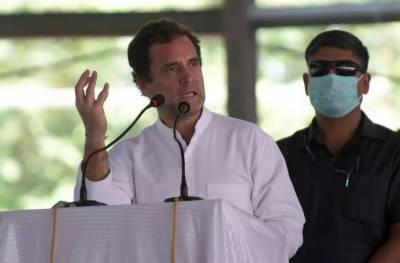 بھارت میں کورونا وائرس, اپورزیشن رہنما را ہول گاندھی وزیر اعظم مودی پر برس پڑے۔