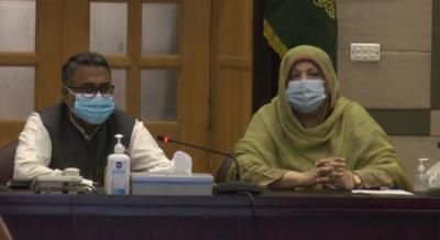صوبائی وزیر صحت ڈاکٹر یاسمین راشد کی زیر صدارت اجلاس، ہسپتالوں کیلئے آکسیجن جنریٹرز کی خریداری پر غور