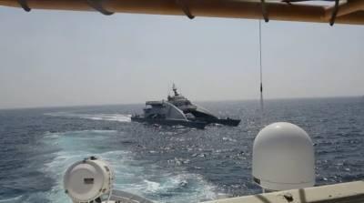 سپاہ پاسداران انقلاب کی کشتیوں کی اشتعال انگیز کارروائیاں پریشان کن ہیں۔ امریکی محکمہ دفاع