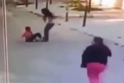 شامی بچے پرلبنانی معلمہ کا وحشیانہ تشدد ، ویڈیو سوشل میڈیا پر وائرل
