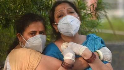 24 گھنٹوں کے دوران بھارت میں 4 لاکھ 6 ہزار 628 افراد میں کورونا وائرس کی تصدیق