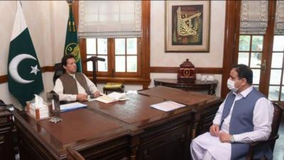 وزیراعلیٰ پنجاب کی وزیراعظم سے ملاقات میں مختلف امور پر تبادلہ خیال
