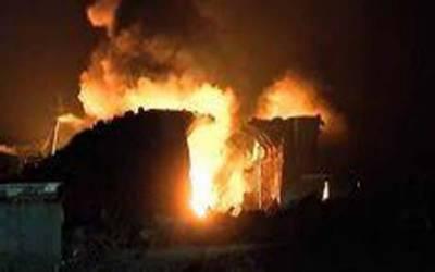 مریدکے : دو مقامات پر آتشزدگی ، 2 بچیاں جھلس کر جاں بحق، 2 مزدور زخمی