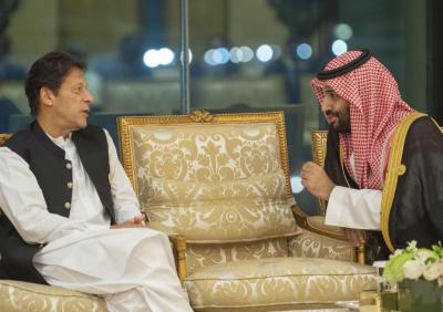 وزیراعظم عمران خان سعودی عرب پہنچ گئے