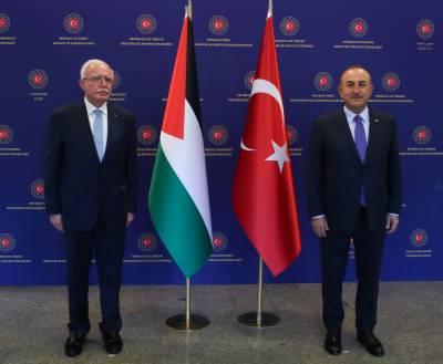 ترکی فلسطینیوں کے ساتھ ہونے والی ہر نا انصافی پرآواز بلند کرے گا۔ مولود جاویش اوگلو