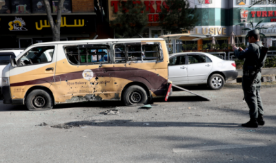 افغانستان: بم دھماکے میں مسافر بس تباہ، 11 افراد ہلاک