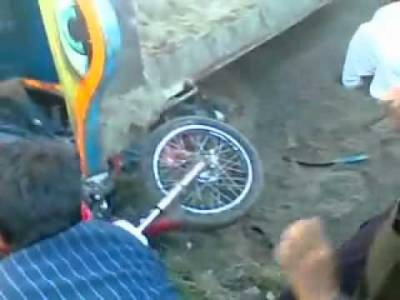 مردان:ٹریکٹر اور چنگ چی کے ما بین تصادم سے 4افراد زخمی