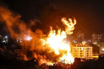 عید سے پہلے فلسطینیوں پراسرائیل نے قیامت ڈھادی، بمباری میں 28 افراد شہید