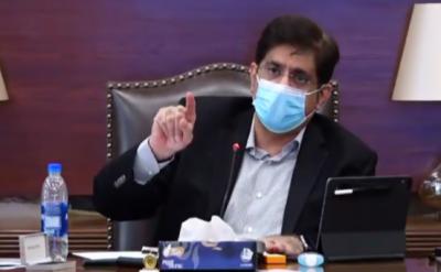 سمندری طوفان: وزیر اعلیٰ سندھ کا شہر سے بل بورڈز ہٹانے، نالوں کی صفائی کا حکم