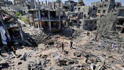 غزہ میں اسرائیلی بمباری،فلسطینی شہداء کی تعداد 139 ہوگئی