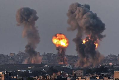 اسرائیل کی نہتے فلسطینیوں پر وحشیانہ بمباری، شہدا کی تعداد 170 تک پہنچ گئی