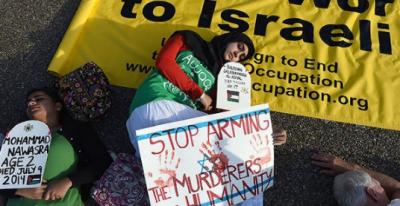 فلسطین پر اسرائیلی بربریت کے خلاف دنیا سراپا احتجاج