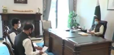 صوبائی وزیر تعلیم کی وزیر اعظم سے ملاقات صوبے کی تعلیمی صورتحال اور سیاسی امور پر تبادلہ خیال