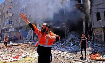 قیامت خیز مناظر،دہشتگرداسرائیلی فوج کی گھروں پر وحشیانہ بمباری، کئی فلسطینی زندہ درگور