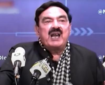حکومت نے شہباز شریف کا نام ایگزٹ کنٹرول لسٹ میں شامل کردیا: وزیرداخلہ شیخ رشید