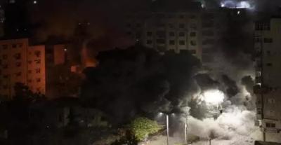 اسرائیل نے غزہ پر فضائی حملے میں فلسطین کے سینئر عسکری کمانڈر حسام ابو حربید کو شہید کردیا