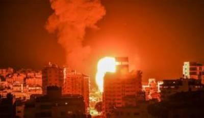 غزہ کی پٹی پر فلسطینیوں اور اسرائیلی فوج کے درمیان گھمسان کی لڑائی جاری