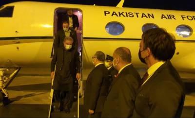 وزیراعظم کی خصوصی ہدایت پر وزیر خارجہ شاہ محمود قریشی ترکی پہنچ گئے