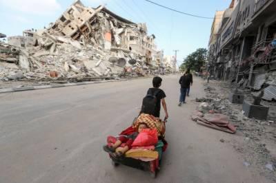 غزہ پرحملوں میں شہید افرادمیں ایک تہائی فلسطینی بچّے ہیں
