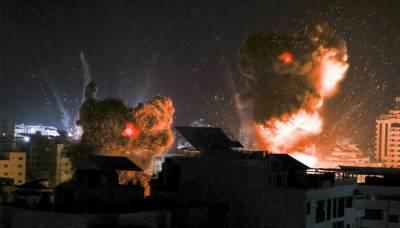 غزہ میں اسرائیلی فضائیہ کا قطری ہلال احمر پر حملہ، 2 فلسطینی شہید،10 زخمی